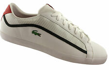 LACOSTE COUR MENS LEATHER CASUAL LACE UP SHOES/SNEAKERS/FASHION/SALE