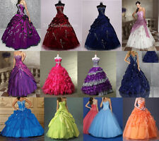 New Prom Dress Bridesmaid Long Formal Party Quinceanera Evening Dress Size 6-16