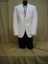 Jean Yves White Illusion Formal Coat NOW $69.99 !!!!COAT ONLY!!!!
