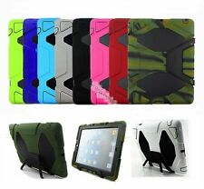 WATERPROOF SHOCKPROOF DIRTPROOF RUGGED CASE FOR APPLE iPad 2/3rd/4th