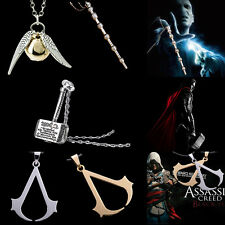 Occident Retro The Movies game figure's Alloy Pendant Necklace Mens/Women's