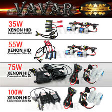 35W 55W 75W 100W Headlight Xenon HID Conversion Kit H1 H3 H7 H10 H11 9005 9006
