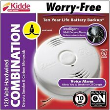 Kidde i12010SCO Hardwired Combination Carbon Monoxide and Smoke Alarm NEW MODEL