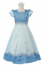 New Girl National Pageant Wedding Easter Formal Party Dress size 6 8 10 12 Blue