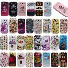 Soft Rubber Silicone Phone Skin Case Cover For Samsung Galaxy S3 S III i9300