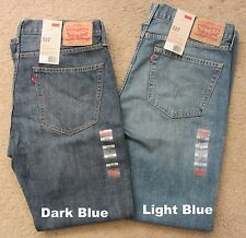 NEW NWT Men's LEVI STRAUSS Jeans 527 Slim Fit Boot Cut  Size 32 33 34 36