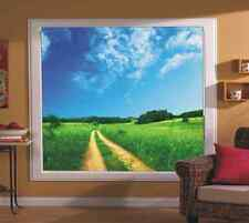 BLACKOUT PHOTO ROLLER BLINDS, PICTURE BLINDS WAY BETWEEN GREEN FIELDS