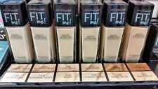 (1) NEW Maybelline Fit Me! Matte Poreless Foundation, You Choose!