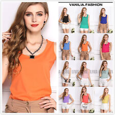 Fashion Womens Summer Casual Chiffon Vest Tops Tank Sleeveless T-Shirt Blouse