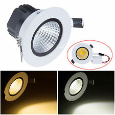 6W 9W 12W 15W Dimmable COB LED Ceiling Recessed Down Light Lamp Bulb with Driver
