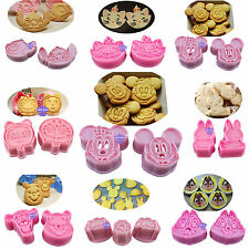 Chocolate Cookie Candy Mould Fondant Cake Decorating Cutter Tools Sugarcraft Set