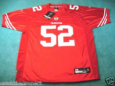 #52 Patrick Willis San Francisco 49ers Red Jersey - ALL Men's Sizes Available -
