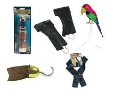ADULT HALLOWEEN FANCY DRESS #CARIBBEAN PIRATE COSTUME ACCESSORIES ALL TYPES