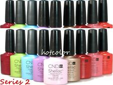 Big Sale! CND Shellac Gel Polish Any Color Base Top Coat *Series 2 / NO BOXES