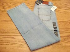 NWT MEN'S LUCKY BRAND JEANS Multiple Sizes 487 Relaxed Straight Handcrafted