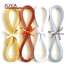 JUYA 3/5/7/10mm Width Metallic Paper Quilling 4 Colors 355mm Length 160 Strips