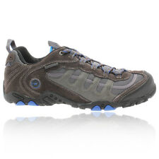 Hi-Tec Mens Penrith Low Waterproof Brown Trail Walking Hiking Shoes Boots