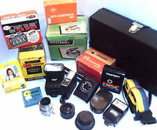 VINTAGE PHOTO ACCESSORIES   LENS, VIEWERS   - click on the site to chose & order