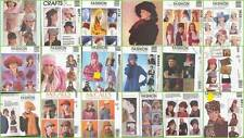 McCalls Sewing Pattern Misses Head Fashion Accessories Hats Millinery You Pick