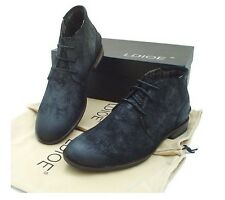 Vintage Mens desert Leather Chukka ankle Boots lace up casual oxford  high shoes