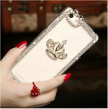 Luxury DIY Bling Crystal Clear Crown Diamond Phone Case Cover for iPhone 5 5S