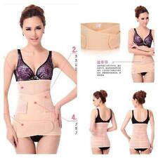 3 in 1 POST NATAL BODY SHAPER BELLY BELT WRAP FOR WEIGHT LOSS GIRDLE UK CORSET