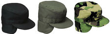 Military Patrol Fatigue Cap With Ear Flaps GI Style Combat Hat Rothco