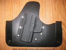 IWB SOB (small of the back) Kydex / Leather Hybrid Holster