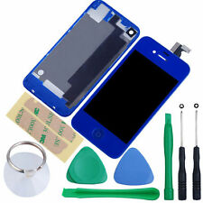 iPhone 4S 4 Touch Screen LCD Display Digitizer Assembly GSM CDMA Kit + Back
