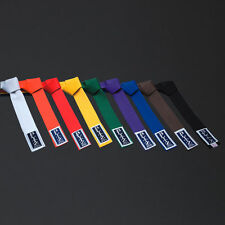 Blitz Karate/Judo/Aikido Colored Belt Martial Arts all colours and Sizes