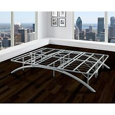 Premier Ellipse Arch Platform Bed Frame silver twin full queen king cal king NEW