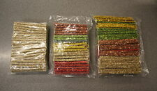 MUNCHY DOG CHEWS/TREATS ASSORTED COLOURS OR NATURAL, FLATS OR ROLLS NEW!