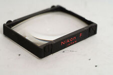 Nikon F Focusing screen A Red for F F2 cameras rare