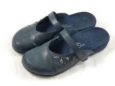 Vionic by Orthaheel Kristin Navy Orthotic Mules PREOWNED