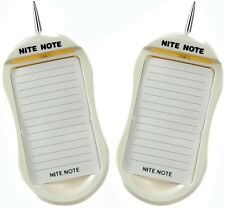Dream Essentials Nite Note Writing  Notepad with Light and Pen Included Set of 2