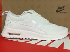 599409-101 New Womens Nike Air Max Thea [size 6-9] White/White Casual Running