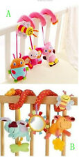 Soft Crib Toy animal friends pull ring bed around baby toys New