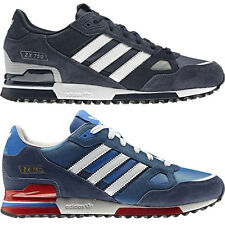 Adidas Originals Mens ZX 750 Trainers Blue Running Shoes, UK Size 6 7 8 9 10 11