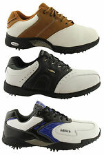 NIBLICK MENS LACE UP WATERPROOF GOLF SHOES **PRICED TO CLEAR**
