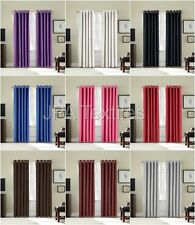 Luxury Thermal Blackout Pair of Eyelet, Ring Top Curtains