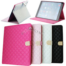 Crystal Diamond Leather Magnetic Stand Case Cover for Apple iPad MINI1/2/234/Air