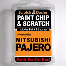 MITSUBISHI PAJERO TOUCH UP PAINT Stone Chip Scratch Car Repair Kit . 2007 - 2013
