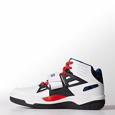 Mens Adidas Originals Mutombo TR Block Sneakers New, Fourth of July, C75343