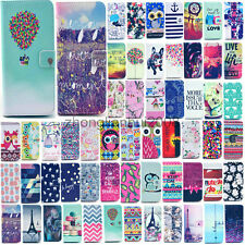 For Apple iPhone 6 Plus 5/5S/5C 4/4S Luxury Painted Wallet PU Leather Cover Case