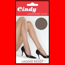 New Cindy Ladder Resist tights L XL 20 Denier 100% Nylon Semi Opaque