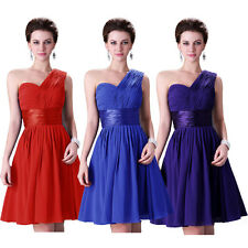 FREE CHEAP A LINE Short Cocktail Prom Party Gown Evening Bridesmaid Dresses Plus