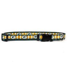 GREEN BAY PACKERS ARGYLE DOG COLLARS  CHOOSE YOUR SIZE