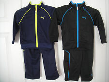 PUMA NWT Boys 2PC Tricot Track suit Jacket Top Pants Warm Up 2 2T 3 3T 4 4T