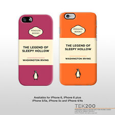 iPhone 6 5 4 The legend of Sleepy Hollow book cover phone case 116