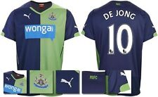 *14 / 15 - PUMA ; NEWCASTLE UTD 3rd KIT SHIRT SS / DE JONG 10 = SIZE*